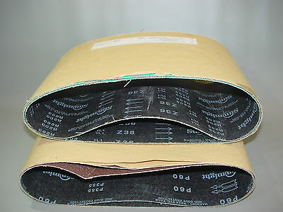 2+2 X Schleifbänder Hummel. 200-750 > K36+k60 > Parkett Bandschleifer (38)