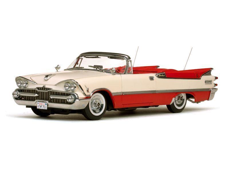 1959 Dodge Royal Lancer 500 POPPY rot 1 18 SunStar 5471