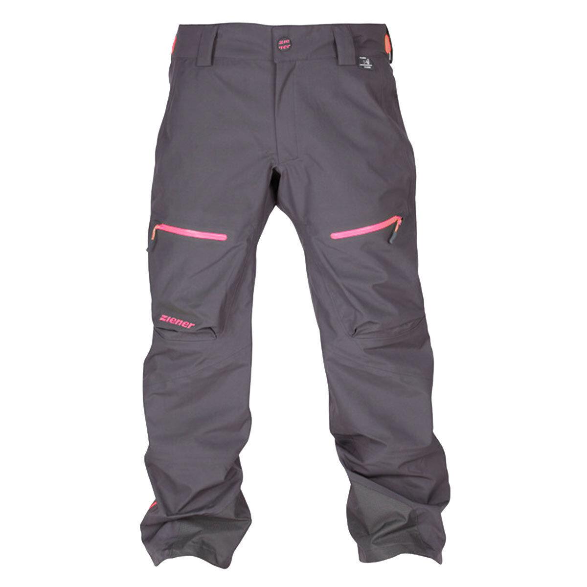 Ziener sallo Donna Sci Snowboard Pantaloni 20k Primaloft AQUASHIELD 144934