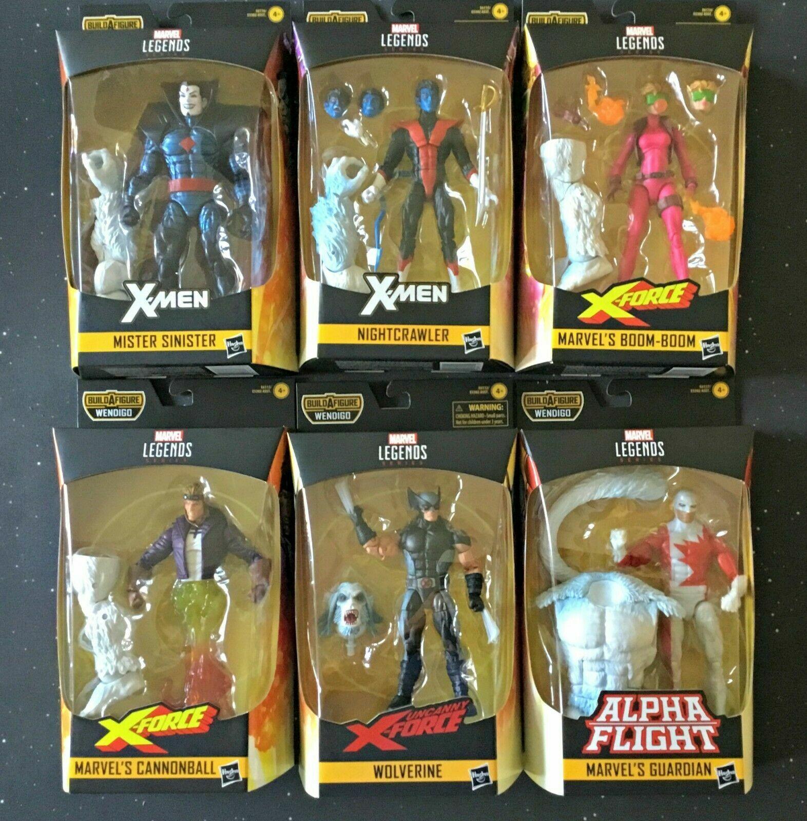 Marvel Legends X Men X Force Force Wendigo BAF