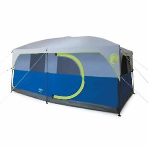 Coleman H&ton 2 Room Family Cabin Tent - 9 Person  sc 1 st  eBay & Coleman Hampton 2 Room Family Cabin Tent - 9 Person for sale online ...