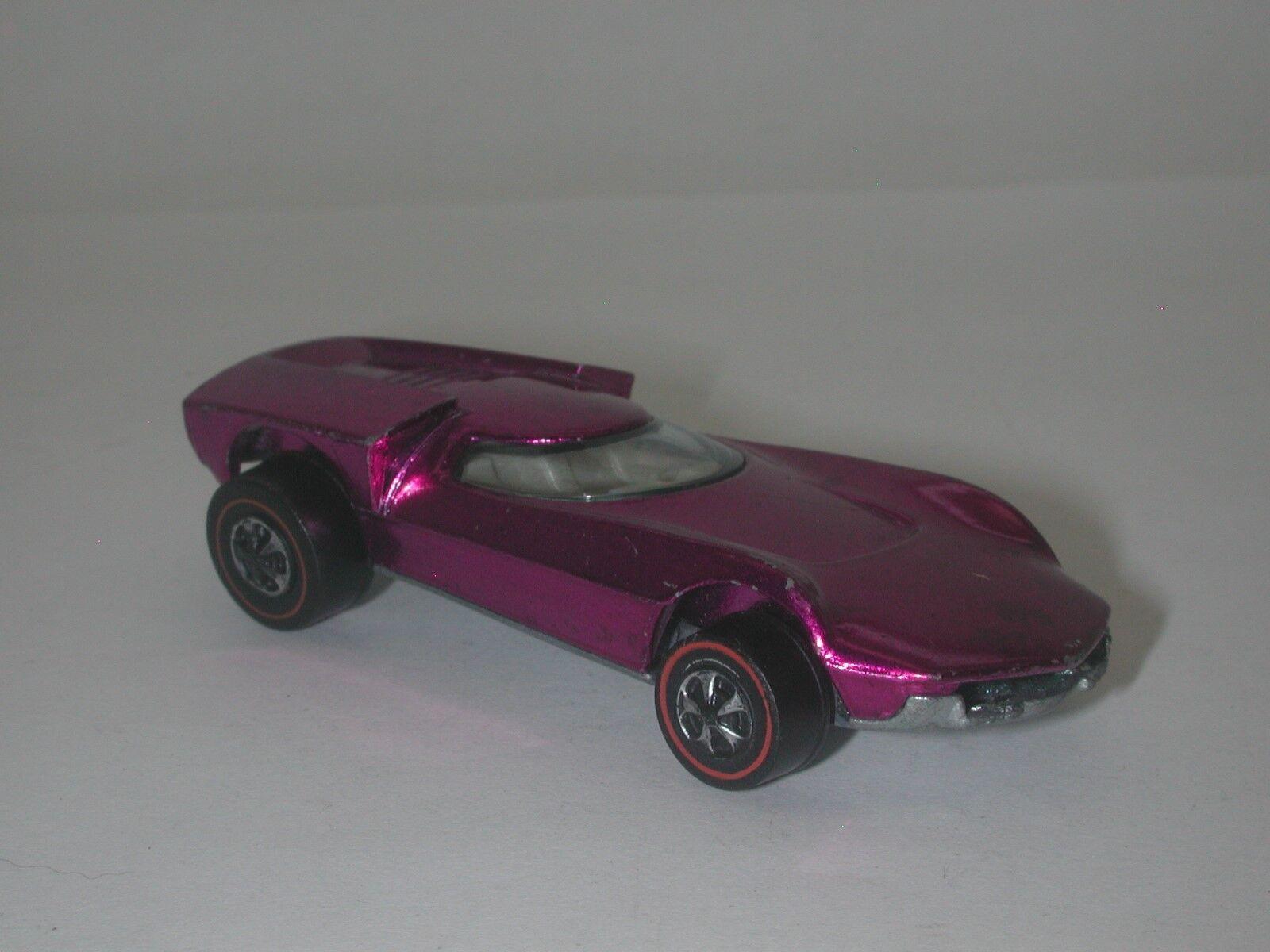 Redline Hotwheels Magenta 1969 Turbofire oc17775