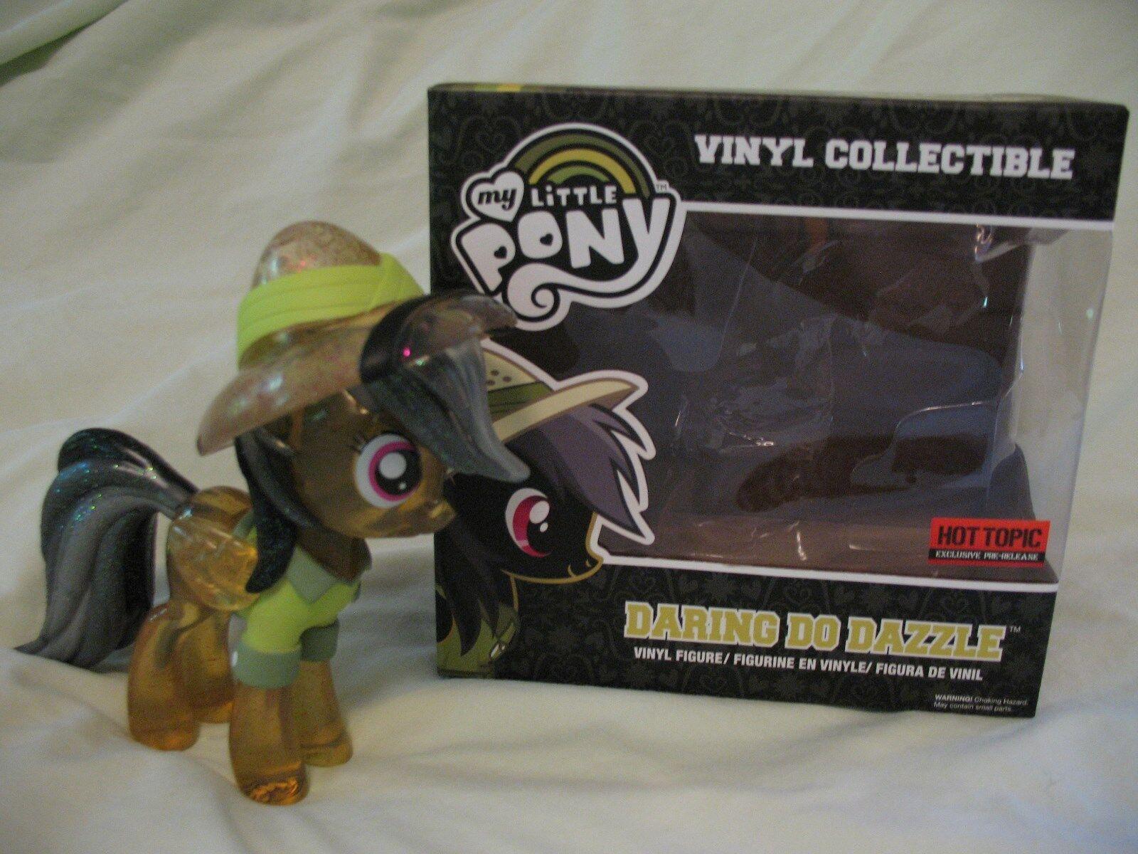 FUNKO My Little Pony FiM 'Daring Do Dazzle' Figure - Glitter Chase Variant NIB
