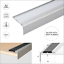 Anodised-Aluminium-Stair-Nosing-Edge-Trim-Step-Nose-Edging-Nosings-120-cm-long thumbnail 4