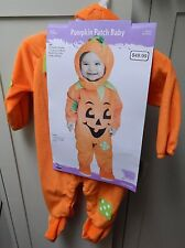 Halloween Costume Pumpkin Patch Baby Infant Sm 6 To 12 Months  Fun World 122S