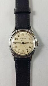 Movado Mens vintage  watch, serviced works good