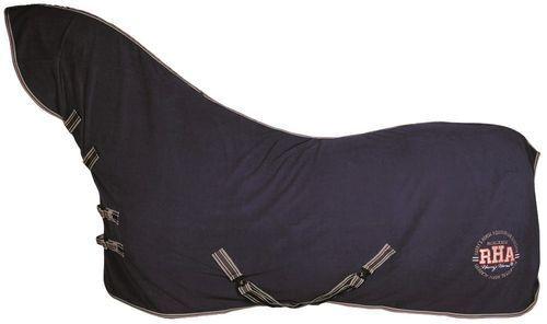 Abschwitzdecke mit Halsteil und Kreuzbegurtung Harrys Horse dress-blues NEU