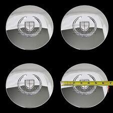 4 Eldorado Deville DTS Chrome Wheel Center Hub Caps 5 Lug Bolt Rim Cover Hubs KC