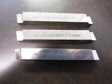 Lot Of 3 Mhc Hss 516x516x2 12 Lathe Square Cutting Tool