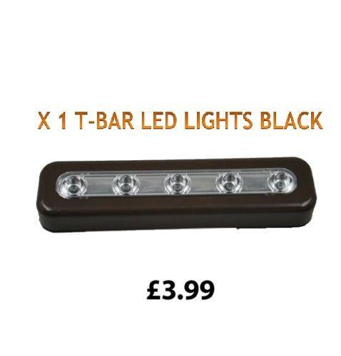 Led Bar Light Kitchen Cabinets Table Bathroom Stick on Units Lights Battery