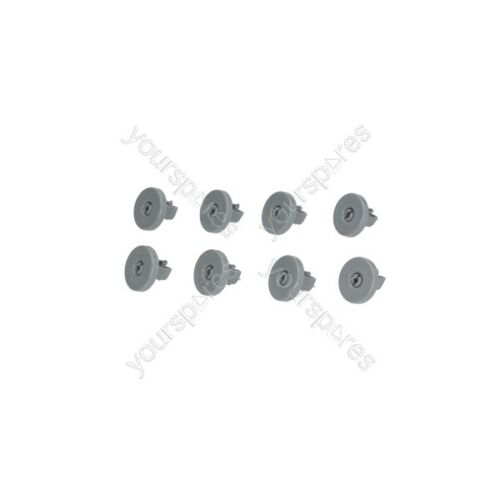 Electrolux Dishwasher Kit 8 Basket Wheels Zanussi 50286965004