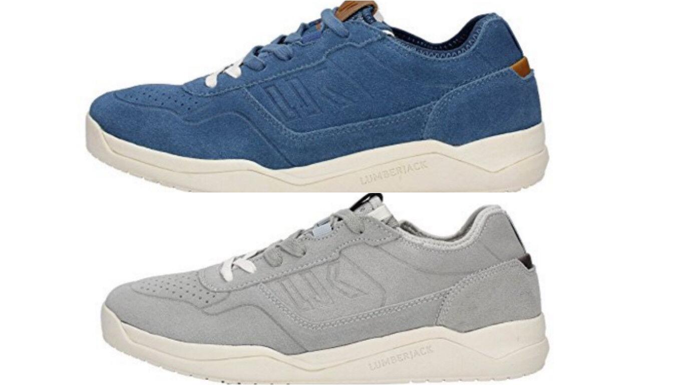 Scarpe Lumberjack spin sm30105 grigio blu scarpe da ginnastica uomo