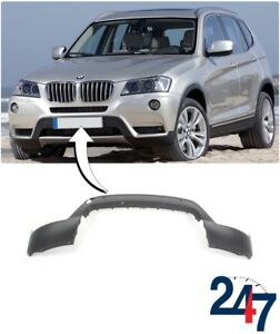 NEW-BMW-X3-SERIES-F25-2010-2014-FRONT-BUMPER-COVER-TRIM-WITH-PDC-7210445