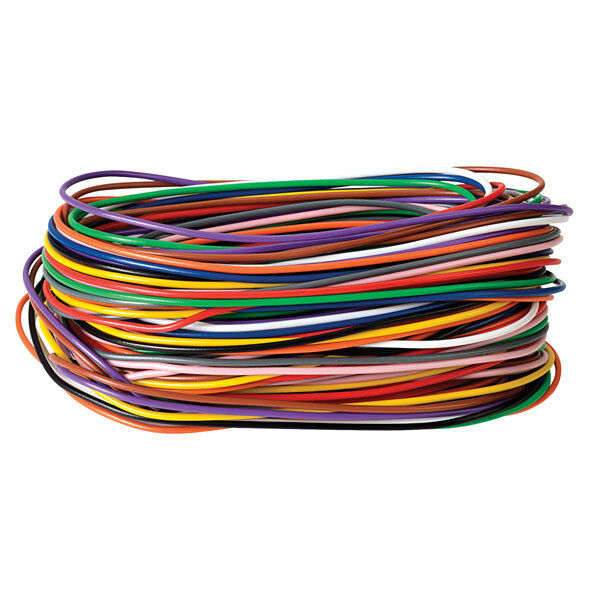 1/0.6 Single Strand, Solid Core Wire Pack (11 x 2m Each)