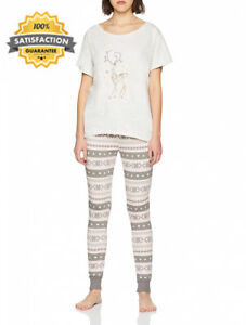 pour Fairisle No pyjama Boux de femmes de Avenue legging l de paillettes et Ensemble BxvwXZq