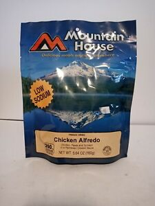 Mountain House Freeze Dried Food Pouches Chicken Alfredo Camp Trail MRE
