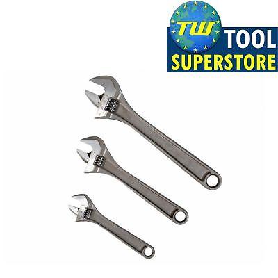 """Bahco Adjustable Spanner Wrench Set 3 Piece 6"""" 8"""" 10"""" ADJUST3 - XMS18ADJUST3"""