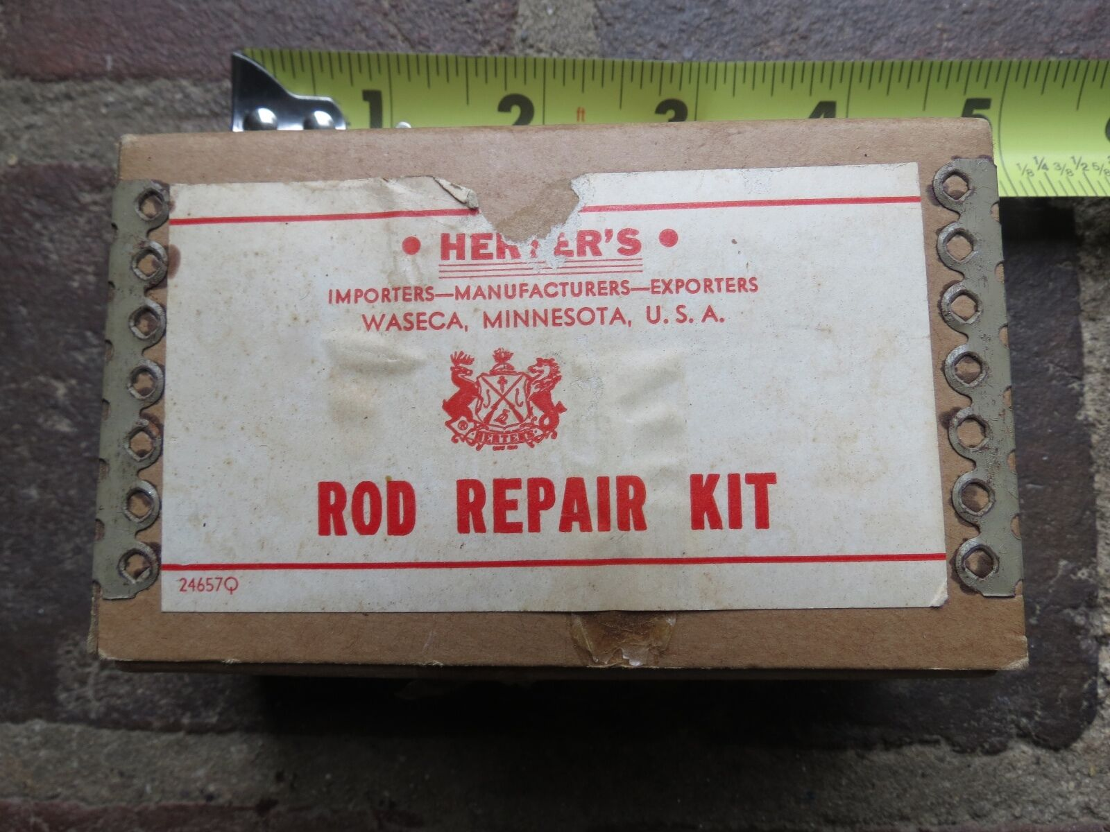 Vintage  Herters Waseca Minnesota USA fishing Rod Repair Kit (lot)  zero profit