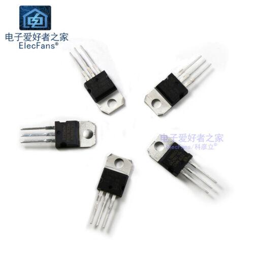 Three-terminal regulatorL7805CV//7806//7808//7809//7810//7815//7818//L7812//L7824 5pcs