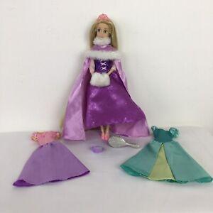 DISNEY Store Rapunzel contorte BOUTIQUE DRESS UP Guardaroba bambolotto e accessori difficile da trovare