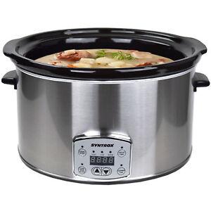 Digital-Slow-cuisiniere-8-0-Litre-avec-minuterie