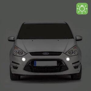 2-ampoules-a-LED-eclairage-blanc-veilleuses-feux-de-position-pour-Ford-S-MAX