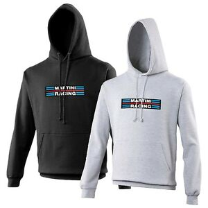 Martini-Racing-Sweat-a-Capuche-Voiture-Enthusiast-LANCIA-RALLY-Divers-Tailles-Et-Couleurs