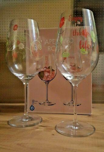 NEU OVP Ritzenhoff 2er-Set Aperitivo Rosato Gläser Aperitifglas Glas