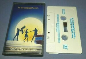 V/A IN THE MIDNIGHT HOUR DANCING THE NIGHT AWAY cassette tape album