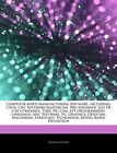 Articles on Computer-Aided Manufacturing Software, Including: Catia, Cnc Software/Mastercam, Pro/Engineer, List of Cax Companies, Tebis, NC-CAM, Apt (Programming Language), Msc Software, NC Graphics, Depocam, Machining Strategist by Hephaestus Books (Paperback / softback, 2011)