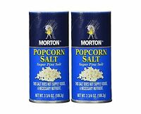 Morton Popcorn Salt 3.75-oz Pack Of 2 Free Shipping
