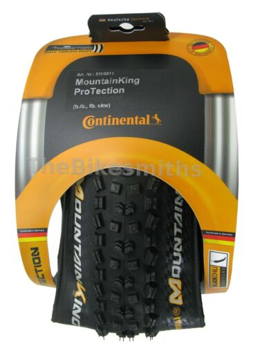 "1or 2PAK Continental MountainKing II ProTection Fold 29/""x 2.2// 2.4/"" Bike TR Tire"