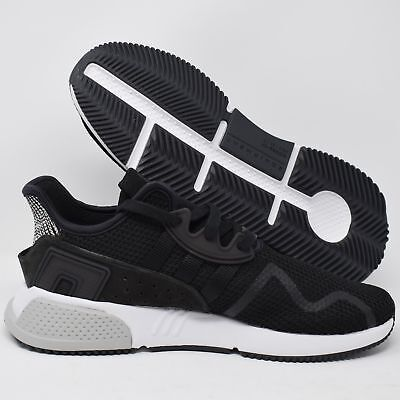 5ce9f50b77b9 Adidas EQT Cushion ADV BY9506 Mens Athletic Shoes Black   White