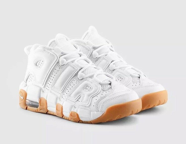 Nike Air More Uptempo GS Youth White Comfortable Great discount