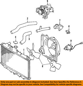 image is loading toyota-oem-84-97-corolla-engine-coolant-thermostat-