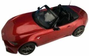 First 18/Première MAZDA 18 NEW ROADSTER SOUL Rouge Premium Métallique Échelle 1/18 F18017