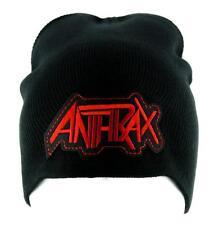 Anthrax Thrash Metal Beanie Alternative Clothing Knit Cap Heavy Music