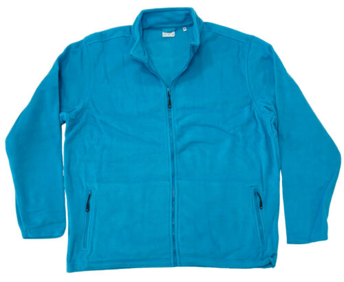 Homme Veste Polaire Manteau Plus Large Grande Taille 2XL 3XL 4XL poches zippées à l/'extérieur