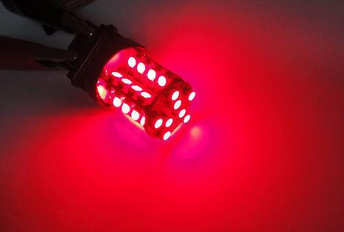 2x RED 40 SMD LED 1156 for Mercedes-Benz BMW Brake Light BA15s 3496 7506 Bulb