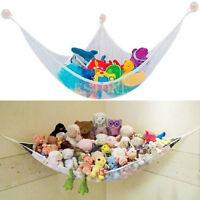 Useful Hammock Net Jumbo Toy Organize Stuffed Animals And Bath Kids Toys
