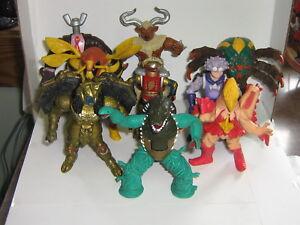 1994 Mighty Morphin Power Rangers Evil Space Aliens Figure Lot De 9 Bandai