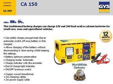 GYS CA150 12V 24V 35-150ah automatique très résistant Chargeur batterie