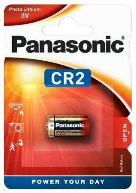 Pile CR2 Panasonic Lithium 3V