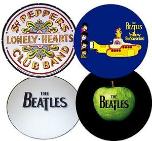 BEATLES-vinyl-collector-Record-Turntable-MAT-Audiophile-Felt-Platter-Slipmat