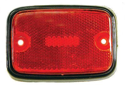 VW BUS SIDE MARKER LENS (RED) EMPI 98-9511