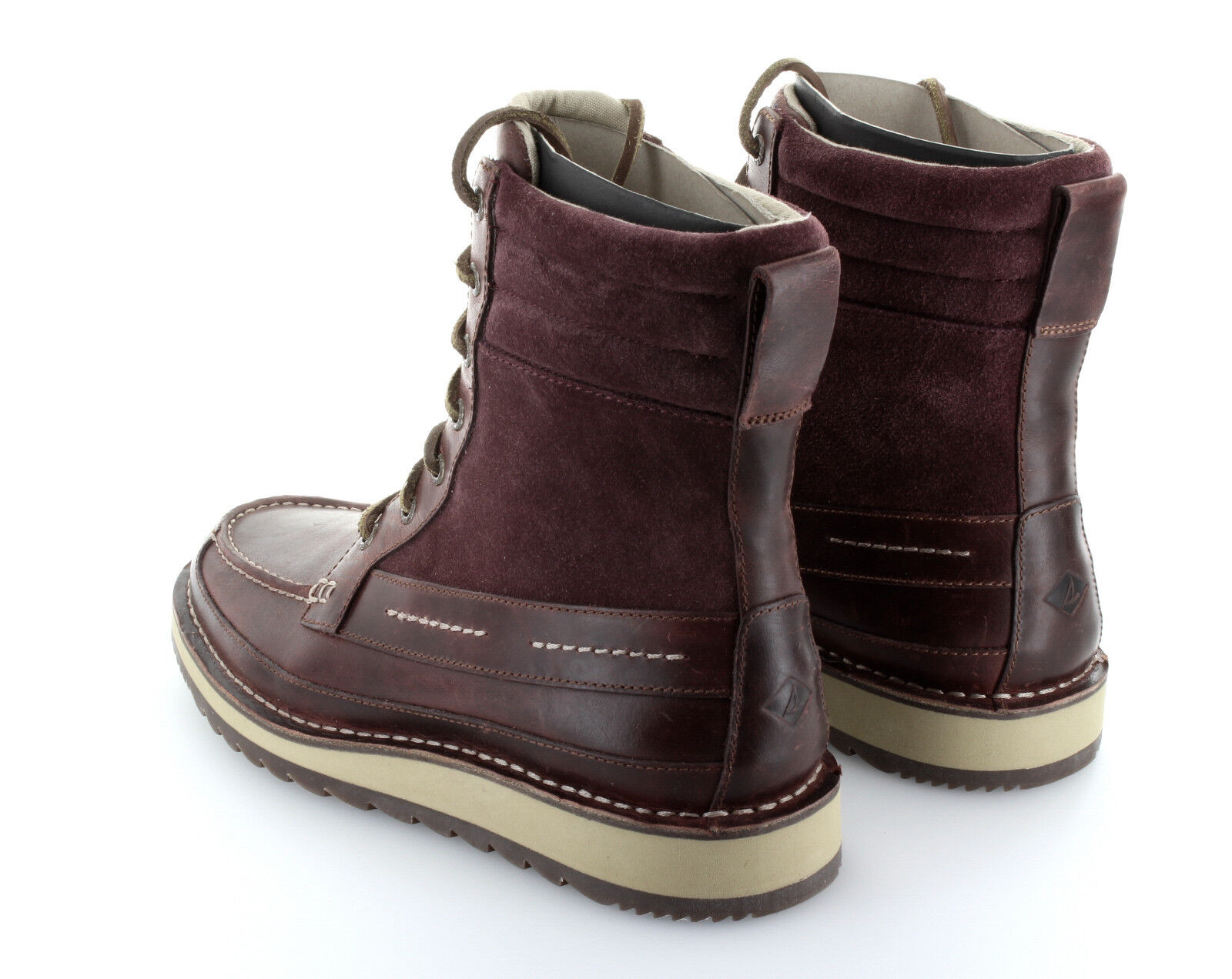 Sperry Top Sider Dockyard Boot Oxblood Stiefel Leder Schuhe Gr. 42 / US 9