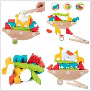 Wooden Building Balance Blocks Toy Kids Puzzle Early Educational Toys Gift Co Ebay