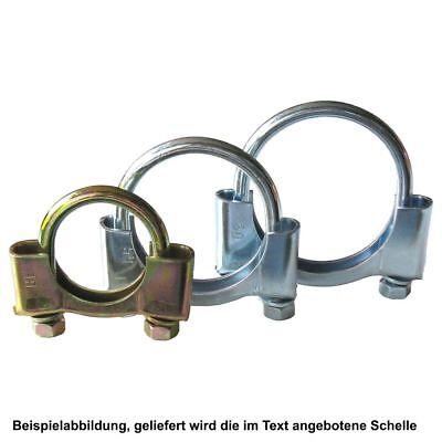 Auspuffschelle-Bügelschelle-Rohrschellen  M8  Ø 60//5 St
