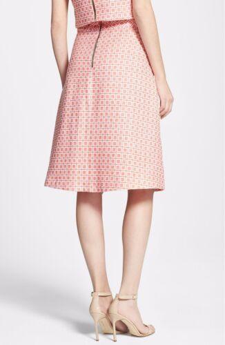 Nwt Turk Scarlet A Trina 278 Jacquard Skirt line 10 FH6xPFwq
