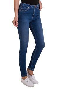 Ex-M-amp-S-Per-una-Mid-Rise-Ladies-Sculpt-amp-Lift-Stretch-Skinny-Jeans-Size-6-24